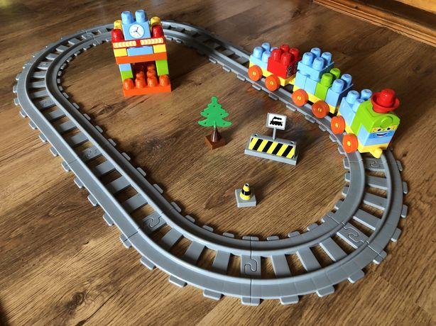 Железная дорога, конструктор, 44 детали