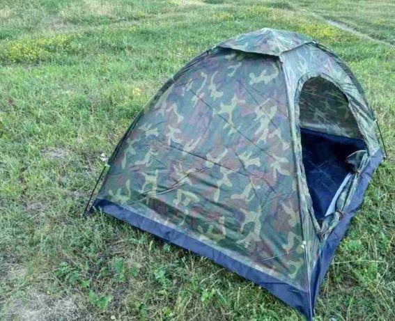 Палатка походная 4 местная Четырехместная палатка камуфляж