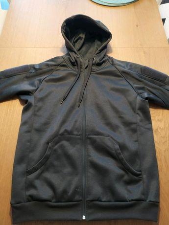 HELIKON-TEX BLUZA URBAN tactical  hoodie (fullzip)® Czarna rozmiar M