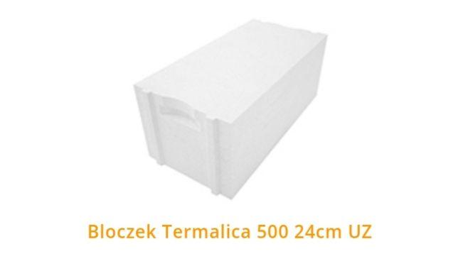 Termalica 24x25x600 beton komórkowy 500
