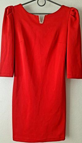 Обалденное красное платье