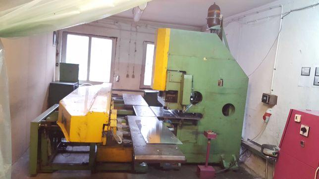 wykrawarka CNC rewolwerowa hydrauliczna 6 stacji 400 kN