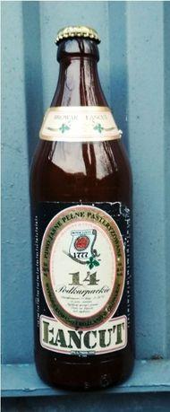 Butelka po piwku Łańcut 14