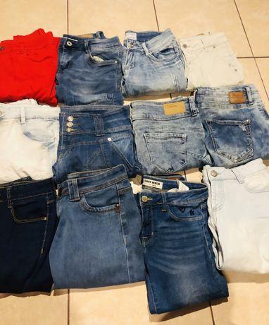 Box 12 pary jeansow