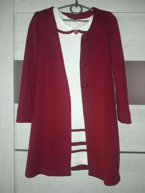Комплект Платье + Кардиган