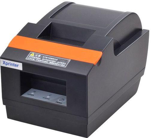 Принтер чеков 58мм Xprinter XP-Q90ec чековый термопринтер автообрез