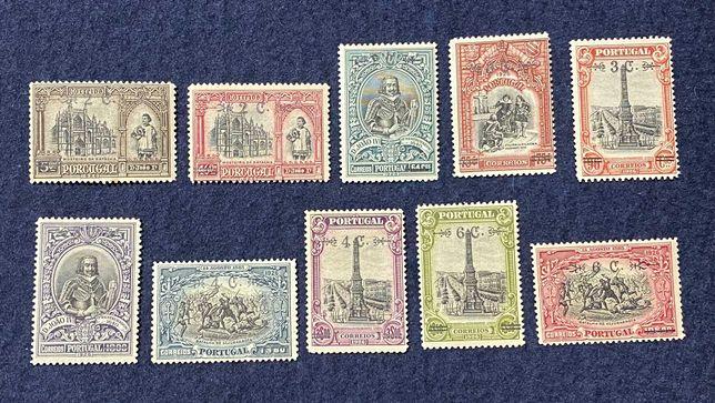 Coleção Selos - Série Completa Independência de Portugal (Ano 1926)