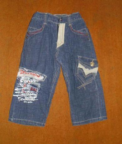 шорты бриджи джинсы на мальчика 4-6 лет