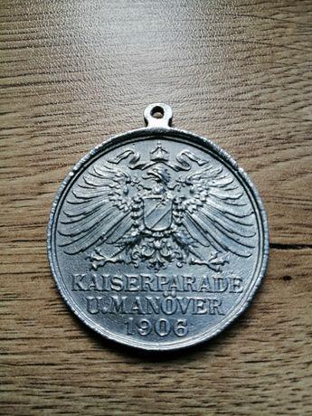 Medal Kaiser Parade 1906 r. WROCŁAW oryginał.