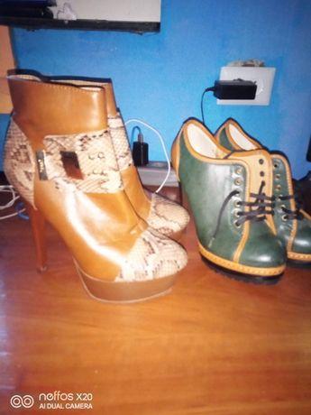 Туфли ботиночки как новые