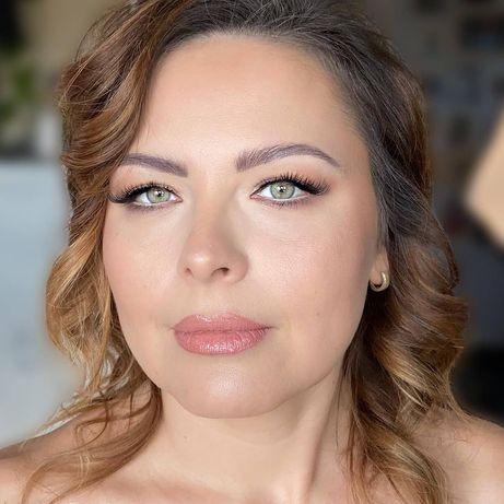 Profesjonalny makijaż ślubny, okolicznościowy, wieczorowy