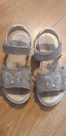 Superfit sandałki sandały 30, srebrne