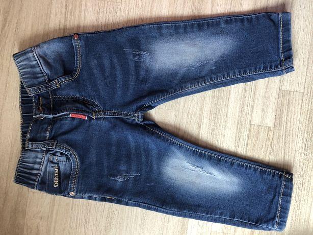 Стильные джинсы на мальчика, штаны на 18 месяцев