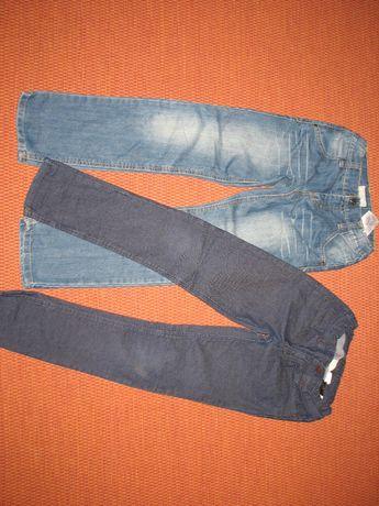 Jeansy dla chłopca w roz. 128 Name it, h&m