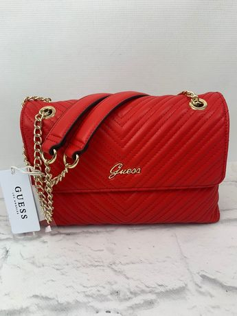 AA08 Guess czerwona torebka damska