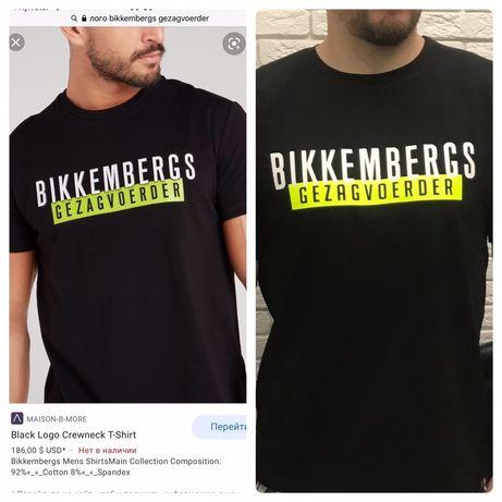 Мужская футболка calvin laderfeld bikkembergs