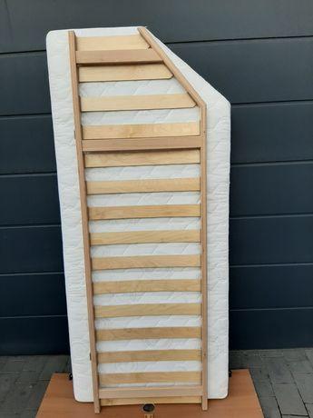 Materac stelaż łóżko przyczepa kamper