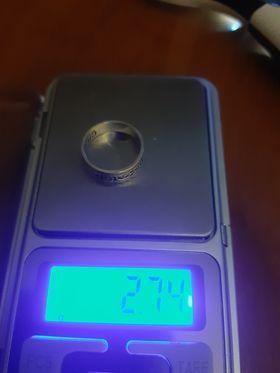 złoto srebrna obrączka rozm 12