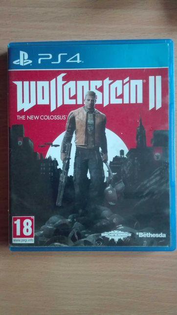Gra na konsole ps 4 Wolfenstein