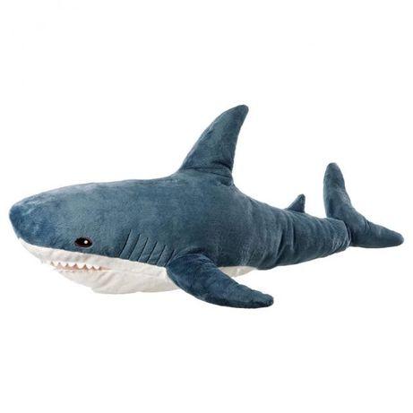 Мягкая игрушка IKEA, акула 100 см. Оригинал ОПТ, Дропшипинг