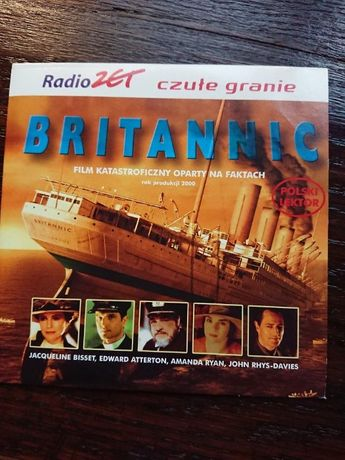 film katastroficzny BRITANNIC na dvd