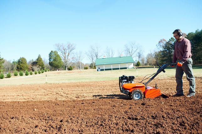 Glebogryzarka przeciwbieżna przekopywanie ziemi koszenie trawnika traw