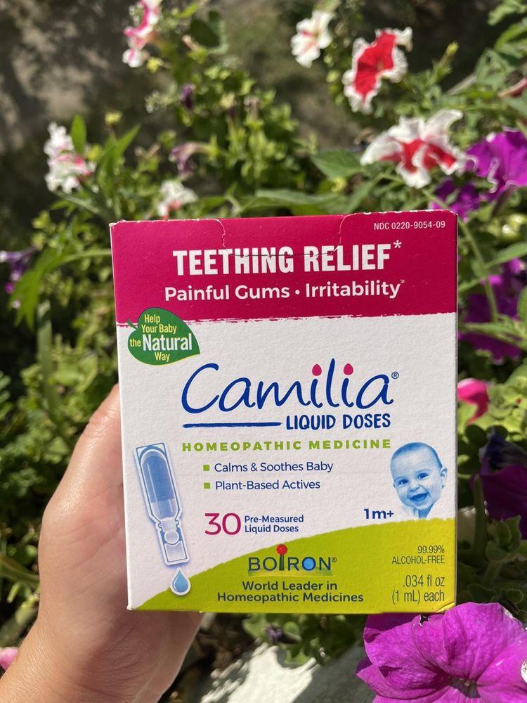 Camilia Boiron камила камелия витамин iherb капли