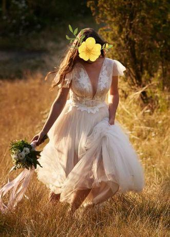 Suknia ślubna BOHO BAMAKO 38