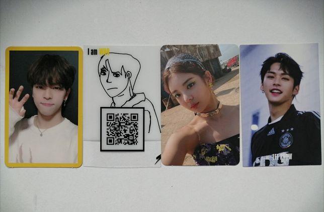 karty stray kids, itzy (lia, lee know, jeongin, woojin)