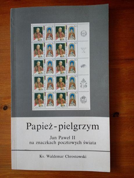 PAPIEŻ - PIELGRZYM Jan Paweł II na znaczkach pocztowych świata.