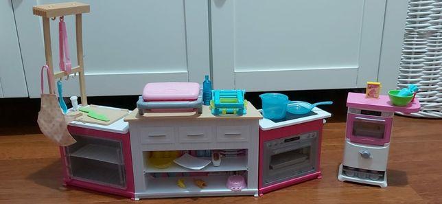 Duża kuchnia Barbie plus piekarnik