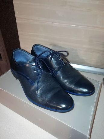 Pantofle skórzane