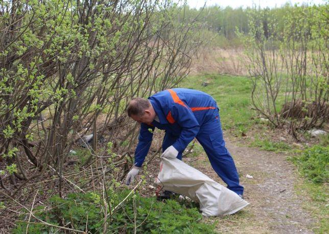 Уборка и благоустройство участка. Расчистка территории. Вывоз мусора.