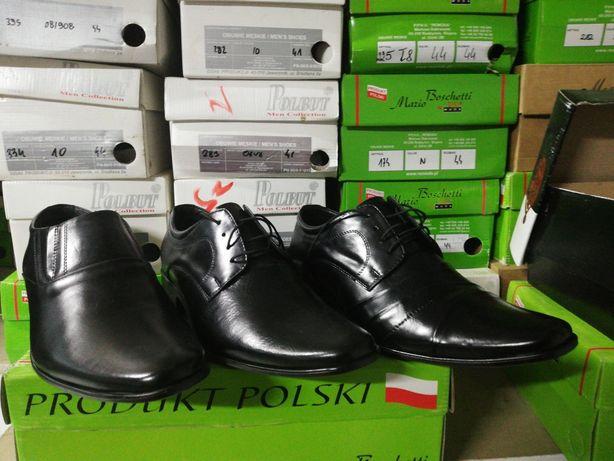 Wizytowe buty skórzane