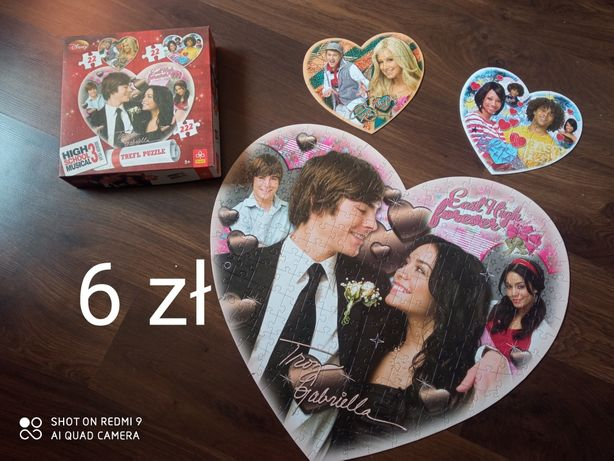 Puzzle High School Musical (3 komplety)