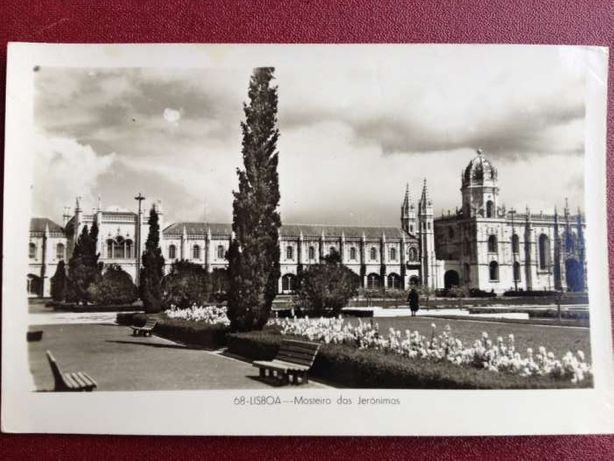 Postal Lisboa 1950