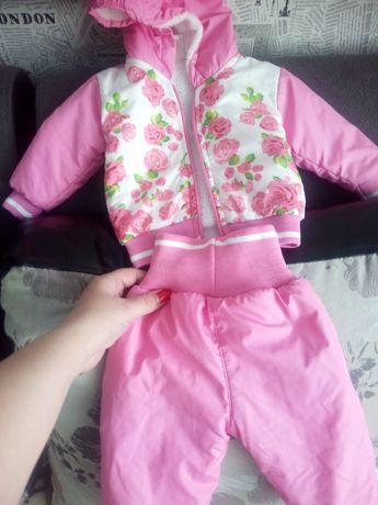 Продам костюмчик для девочки весна -осень