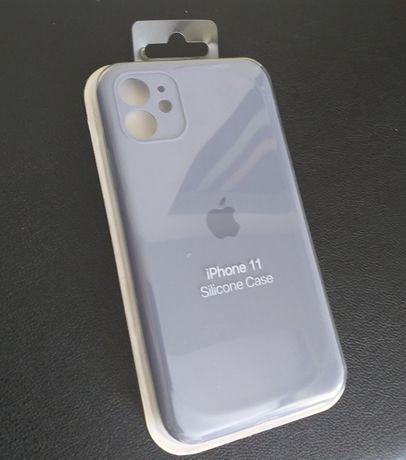 Протиударний чохол (Silicone case Cover) для Iphone 11 LAVENDER