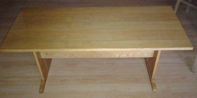 Stolik drewniany sosnowy stół, ława kawowa, okolicznościowa