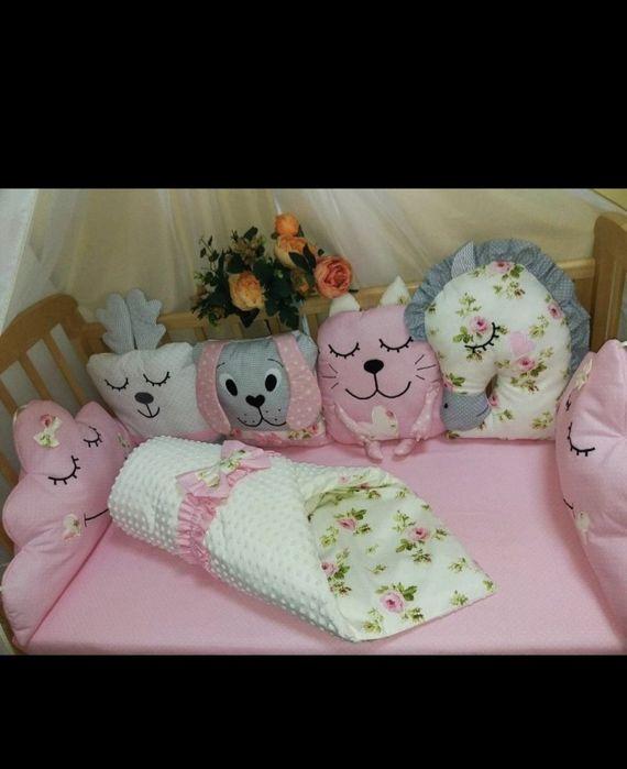 Комплект постельного белья в кроватку. Кривой Рог - изображение 1