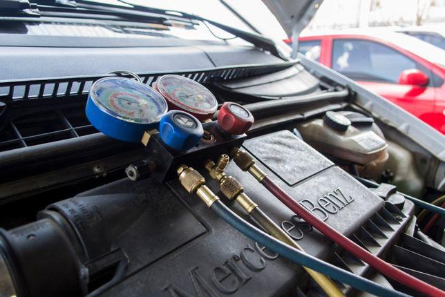 Заправка авто кондиционера, чистка. Антибактериальная обработка