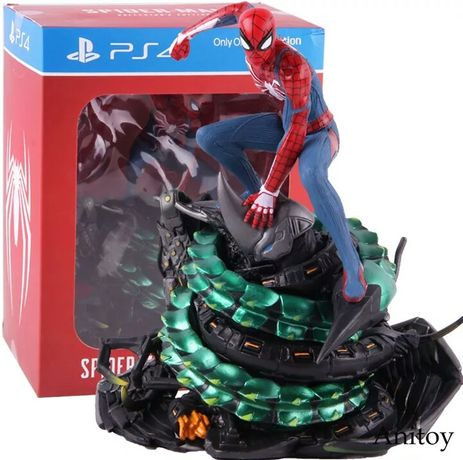 Spiderman collectors edition statue from ps4