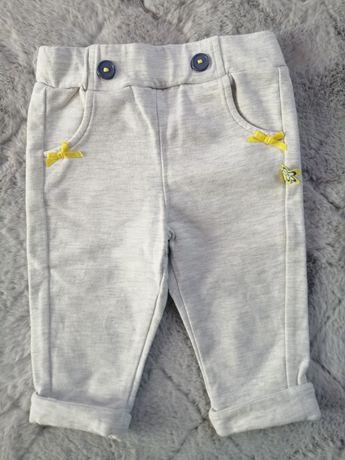 Spodnie dla dziewczynki 68 cm crocodrillo jak nowe