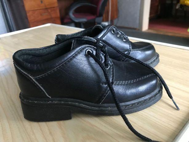 Кожаные Туфли для мальчика 2-3года