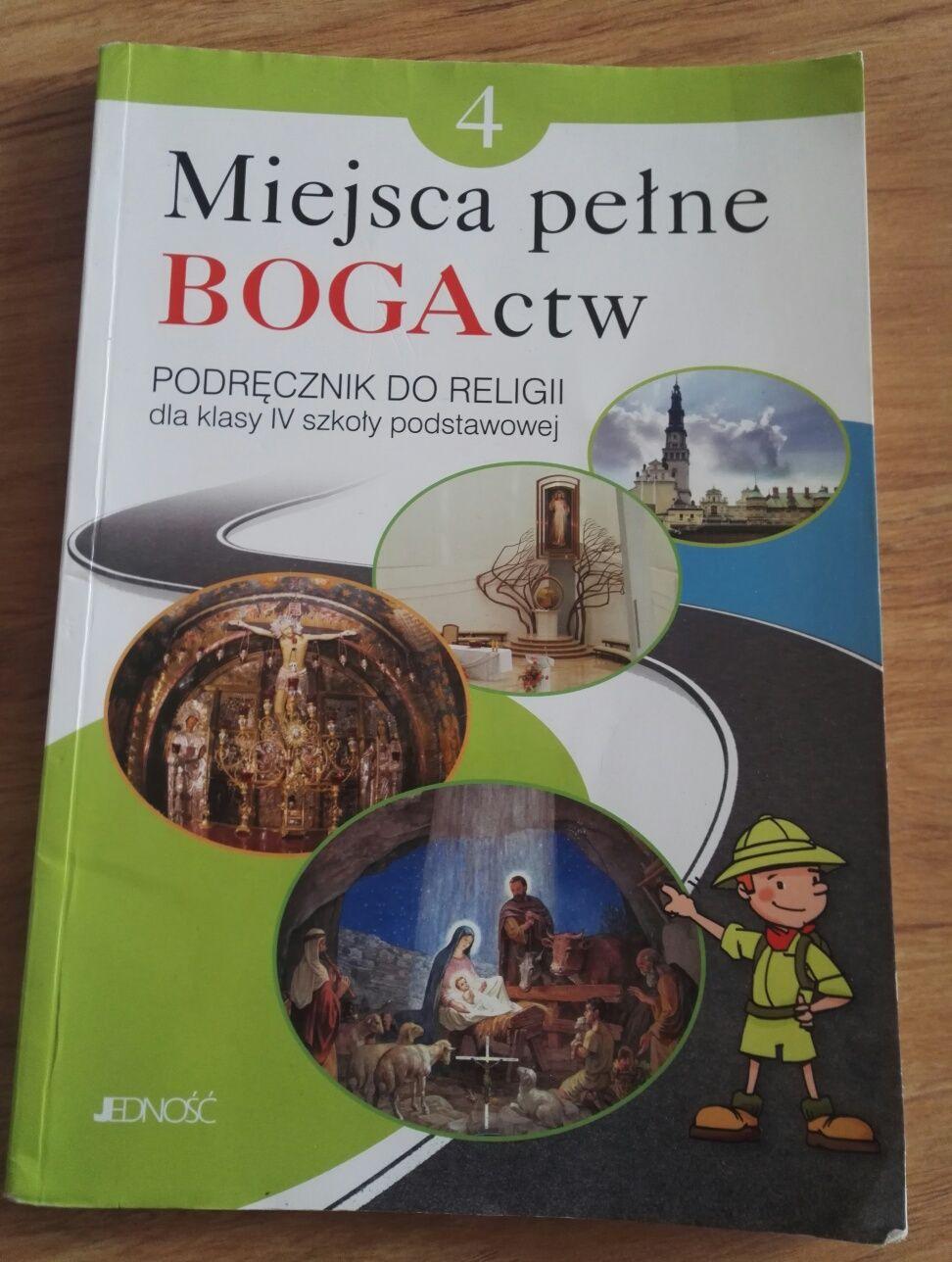 Książka do religii kl. 4. Miejsce pełne BOGActw