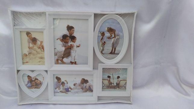 Фоторамка коллаж на 6 фотографий
