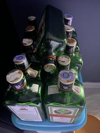 Бутылки из под Jägermeister