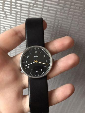 часы мужские BRAUN BN0021BKBKG Dieter Rams