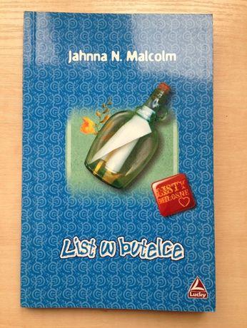List w butelce Książka