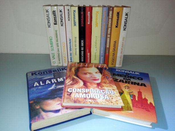 Livros diversos do Autor Konsalik